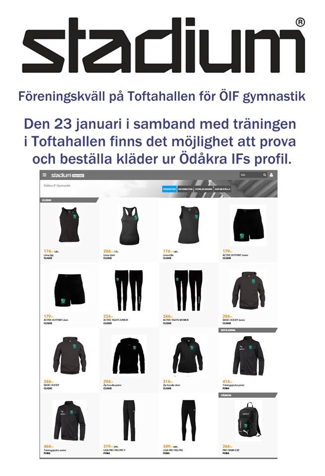 48f36e570d41 Föreningskväll den 23 januari | Ödåkra IF Barngymnastik 4-6 år | laget.se